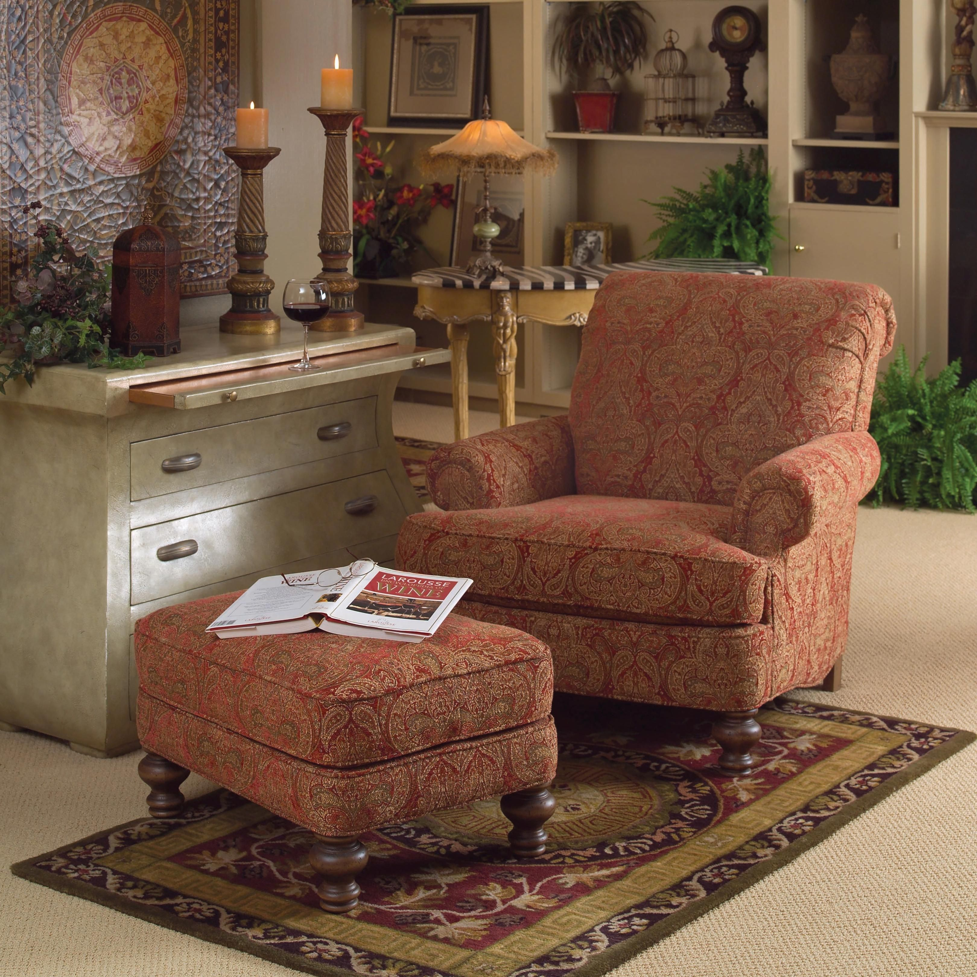 Accent chairs and ottomans sb rectangular ottoman with