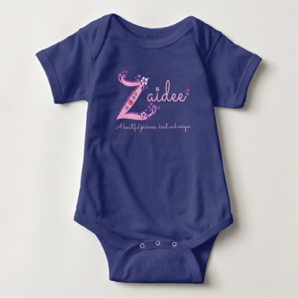 Zaidee girls z name meaning custom baby apparel baby bodysuit zaidee girls z name meaning custom baby apparel baby bodysuit girl gifts special unique diy negle Images