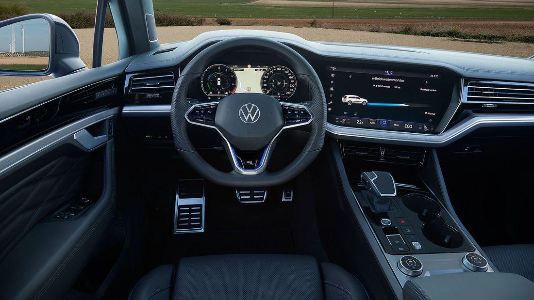 Vw Touareg R 2020 Sportversion Mit Stecker Und 462 Ps In 2020 Vw Touareg Touareg Auto Motor Sport