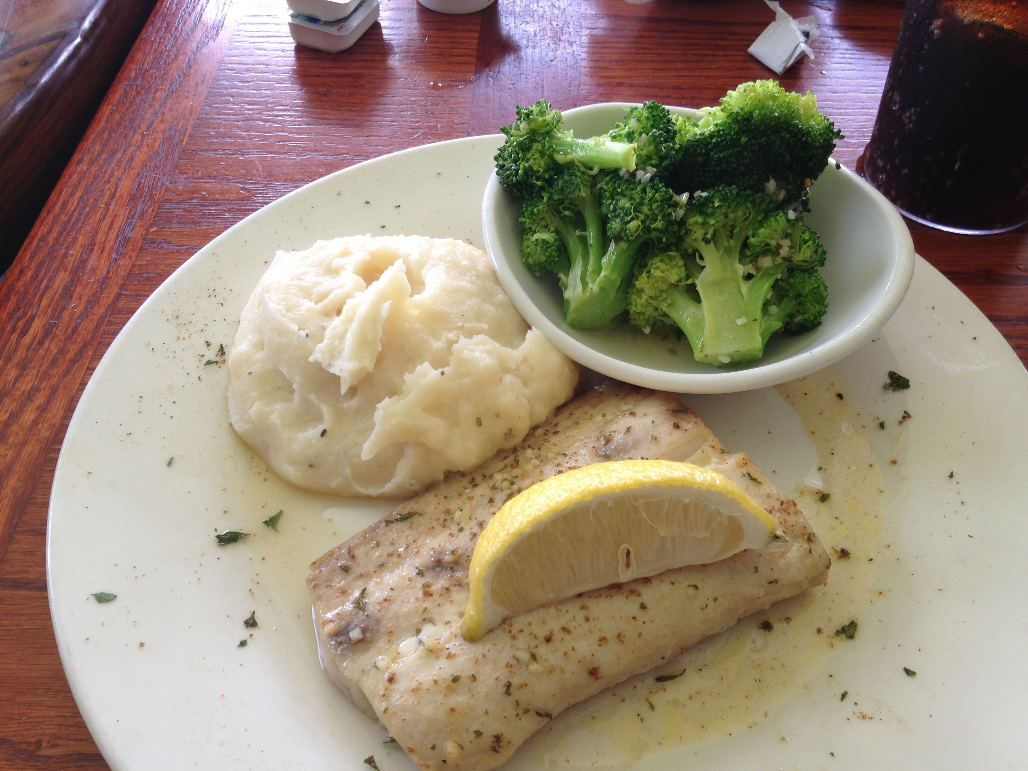 Carribbean Mahi From The Port Steak And Seafood Restaurant In Haines City Florida