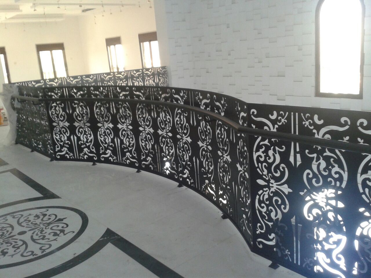 Ornamental railing panels - Laser Cut Screen Balustrade Stair Railingrailingsplasma Cuttingdecorative Panelslazer