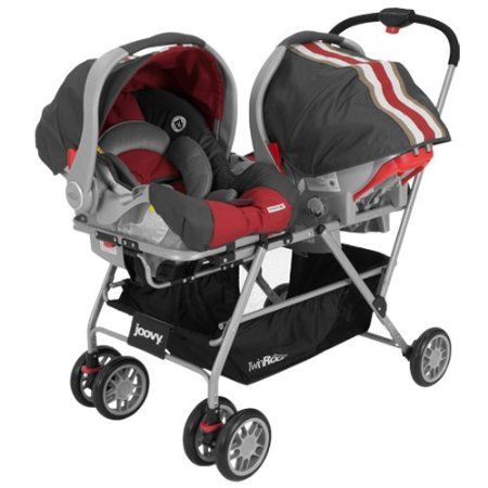 Amazon.com: Joovy Twin Roo Car Seat Stroller: Baby | For the Twins ...