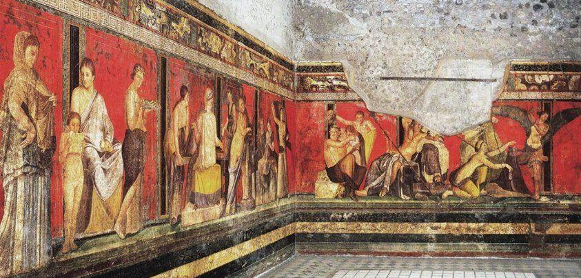 Villa dei Misteri, I a.C. - I d.C. - Pompei
