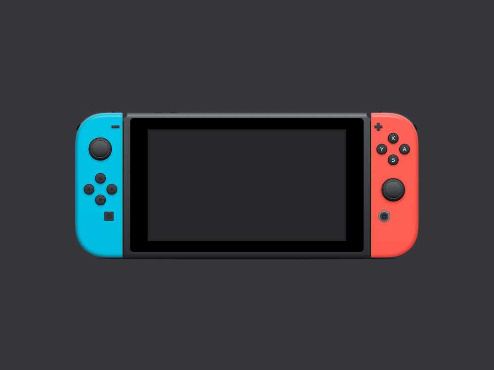 Nintendo Switch Mockup The Mockup Club Nintendo Switch Nintendo Mockup