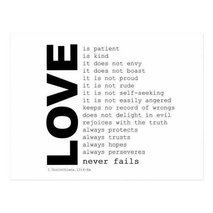 Definiciones de la postal del amor | Zazzle.com