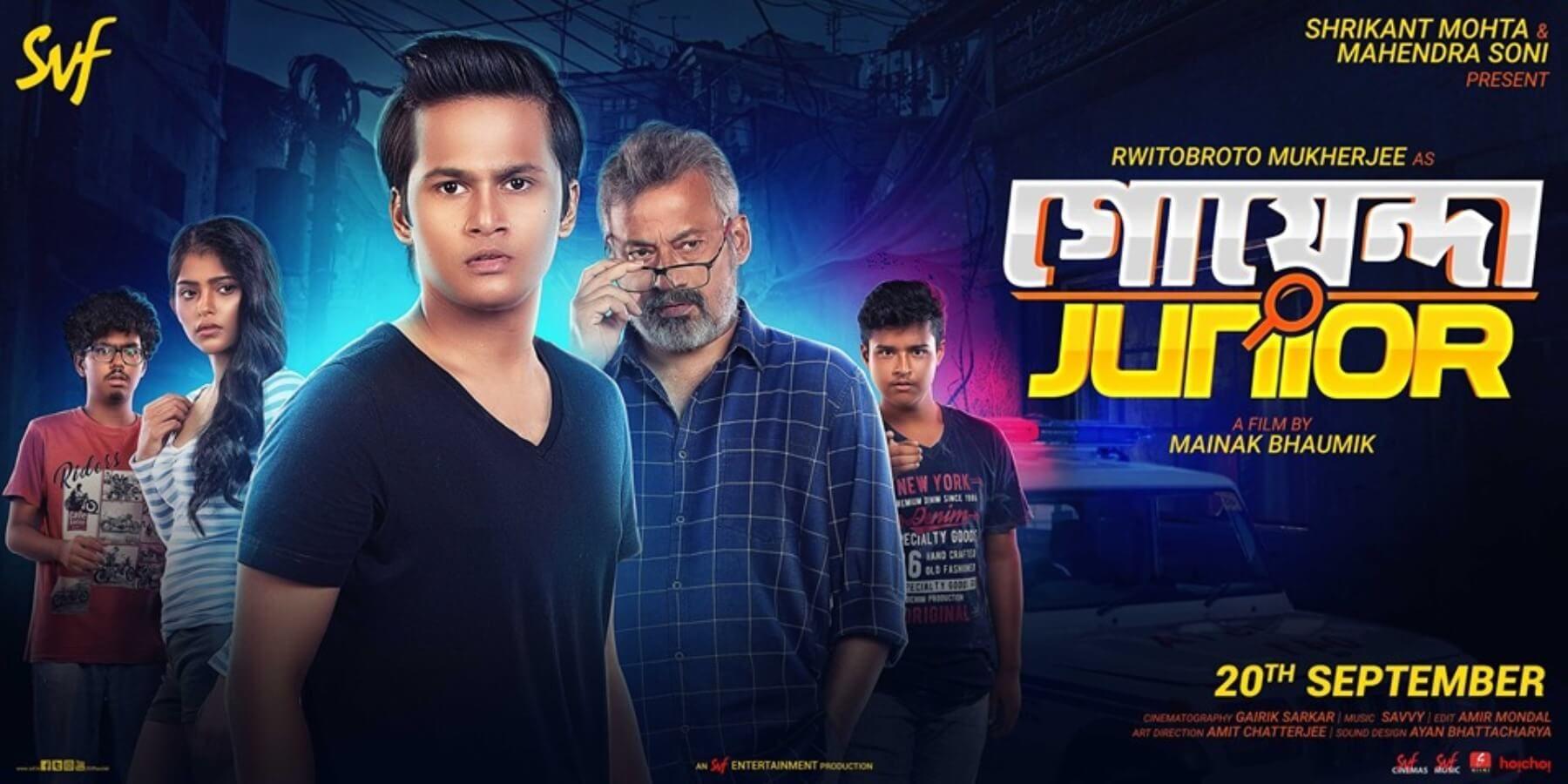 Goyenda Junior 2019 Bangla Movie Hdrip 800mb Movies Junior Torrent