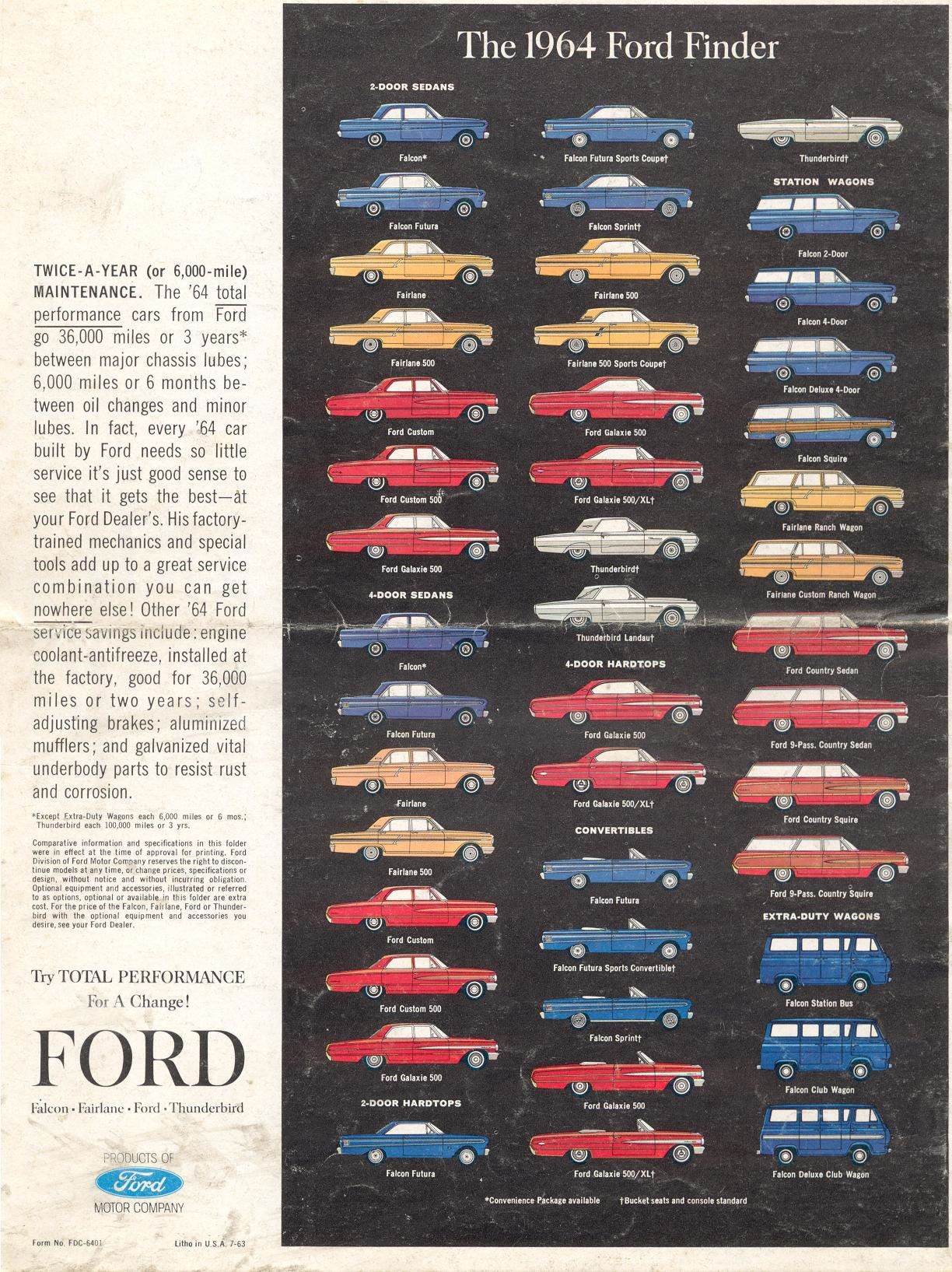 Pin By Anna Rose On Cars Pinterest Brochures Ford And 1964 Fairlane Bucket Seats Research Over 500 Classic Then Search Listings For The Car Of Your Dreams Collector Sale From A Trusted Dealer Network
