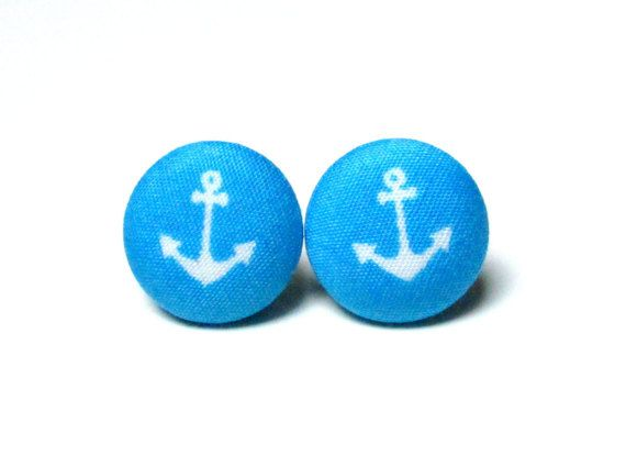 Check out this item in my Etsy shop https://www.etsy.com/listing/259566302/anchor-earrings-blue-navy-earrings-blue