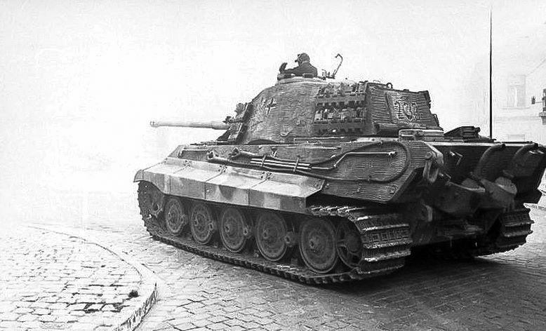 Image result for german king tiger tank budapest