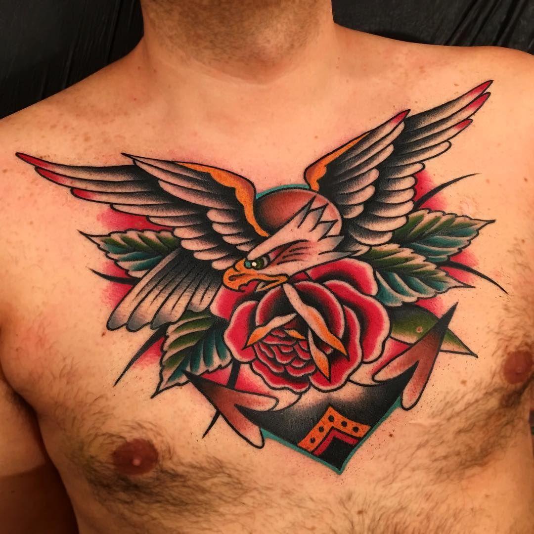 Black Healed Color Fresh Thank You Luca Boldwillhold Tattoo Samuelebriganti Boldwillholdfirenze Boldwillhold Tattoos Chest Piece Tattoos Tattoos For Guys