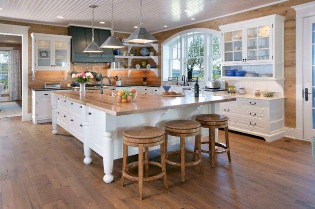 19 elegant l shaped kitchen design ideas freestanding kitchen island kitchen island with on kitchen island ideas v shape id=55726