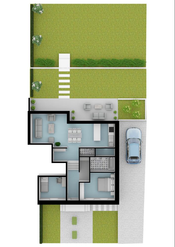House Garden Layout Made With Floorplanner Com Create Floor Plan Floor Plans House