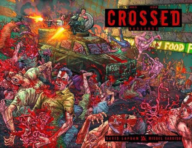 Crossed Badlands 24 Classic Comic Books Crossed Comics Badlands