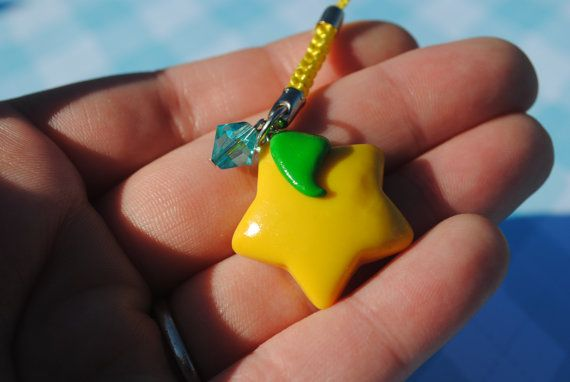 Kingdom Hearts Paopu Fruit Charm by KindredCreationsx3 on Etsy, $6.50