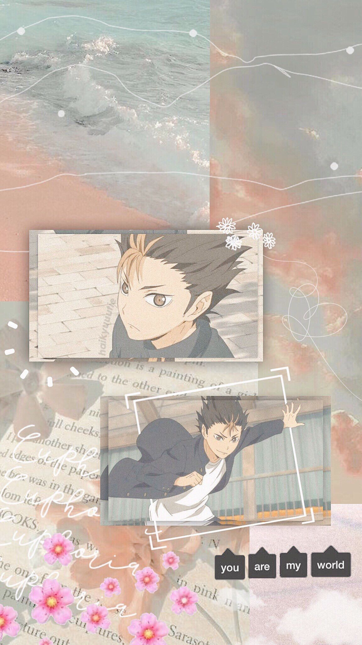 Yuu Nishinoya Wallpaper Anime Wallpaper Iphone Cute Anime Wallpaper Haikyuu Wallpaper