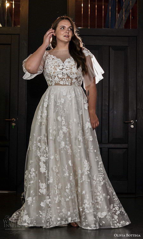 Olivia Bottega 2021 Plus Size Wedding Dresses Wedding Inspirasi Plus Wedding Dresses Wedding Dresses Plus Size Wedding Dress Long Sleeve [ 1500 x 900 Pixel ]