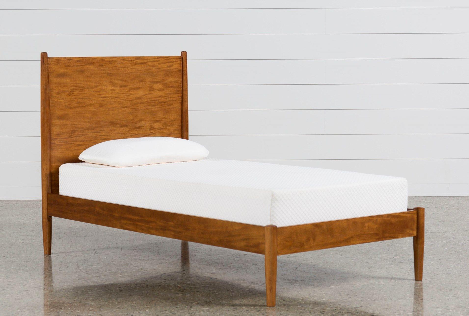 Alton Cherry Twin Platform Bed Twin Platform Bed Frame
