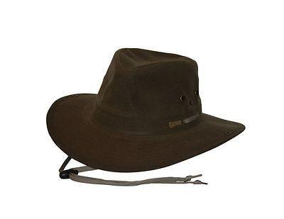 2a2a8e8da5d Outback Trading Hat Mens River Guide Oilskin Waterproof Rugged 1497 ...