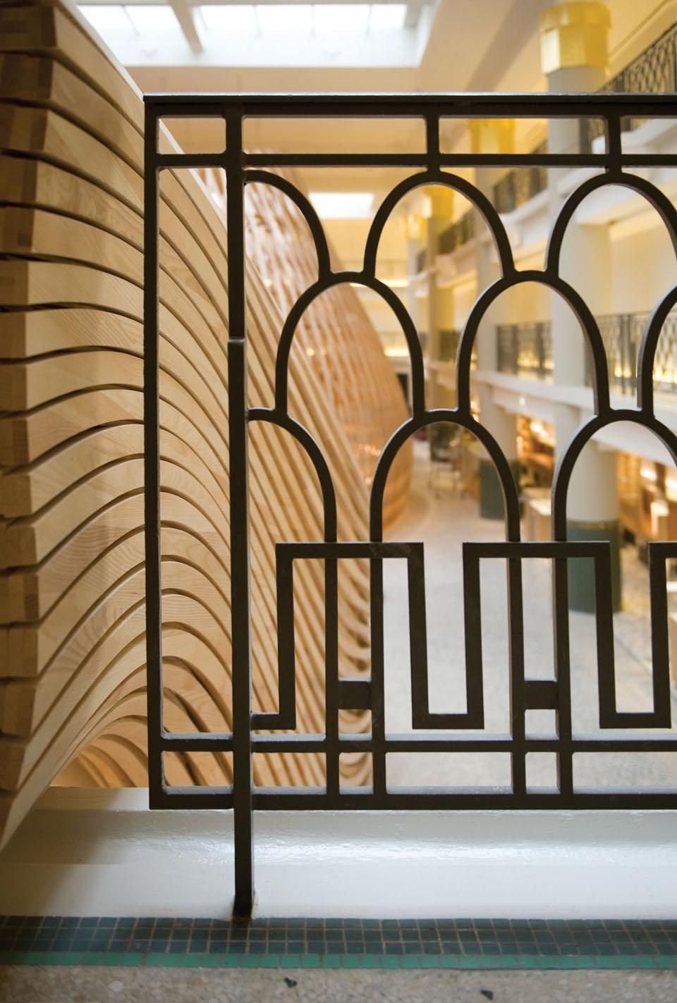 Art Deco balustrades - Google Search Like the Scallops