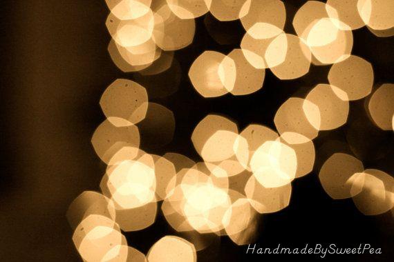 Christmas Tree Bokeh Light Majestic Winter by HandmadeBySweetPea, $15.00