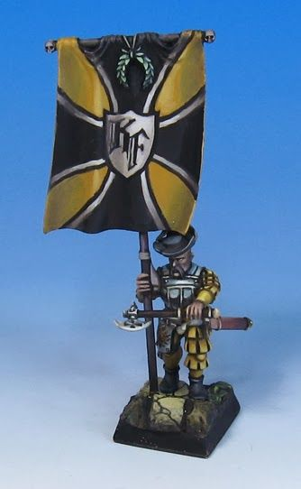 James Wappel Miniature Painting: Let's run it up the flagpole...