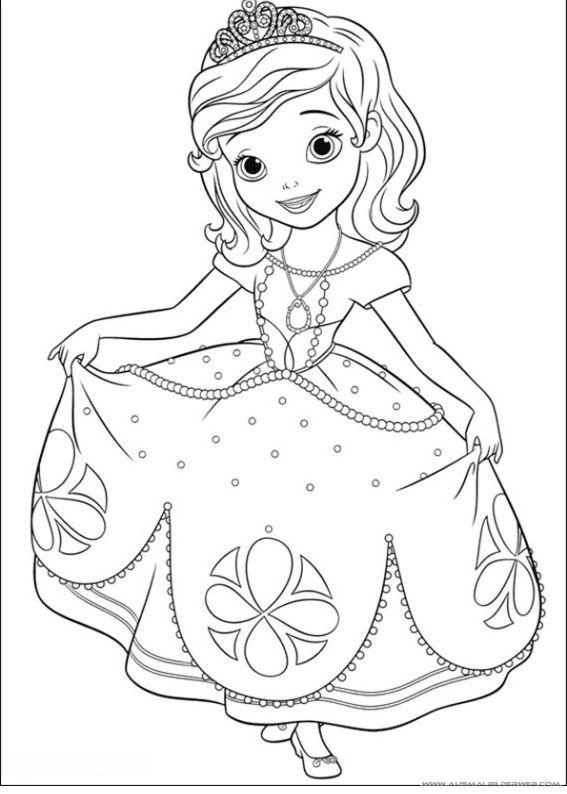 Ausmalbilder Sofia Die Erste 11 Jpg Ausmalbilder Fur Kinder Disney Princess Coloring Pages Princess Coloring Pages Coloring Books