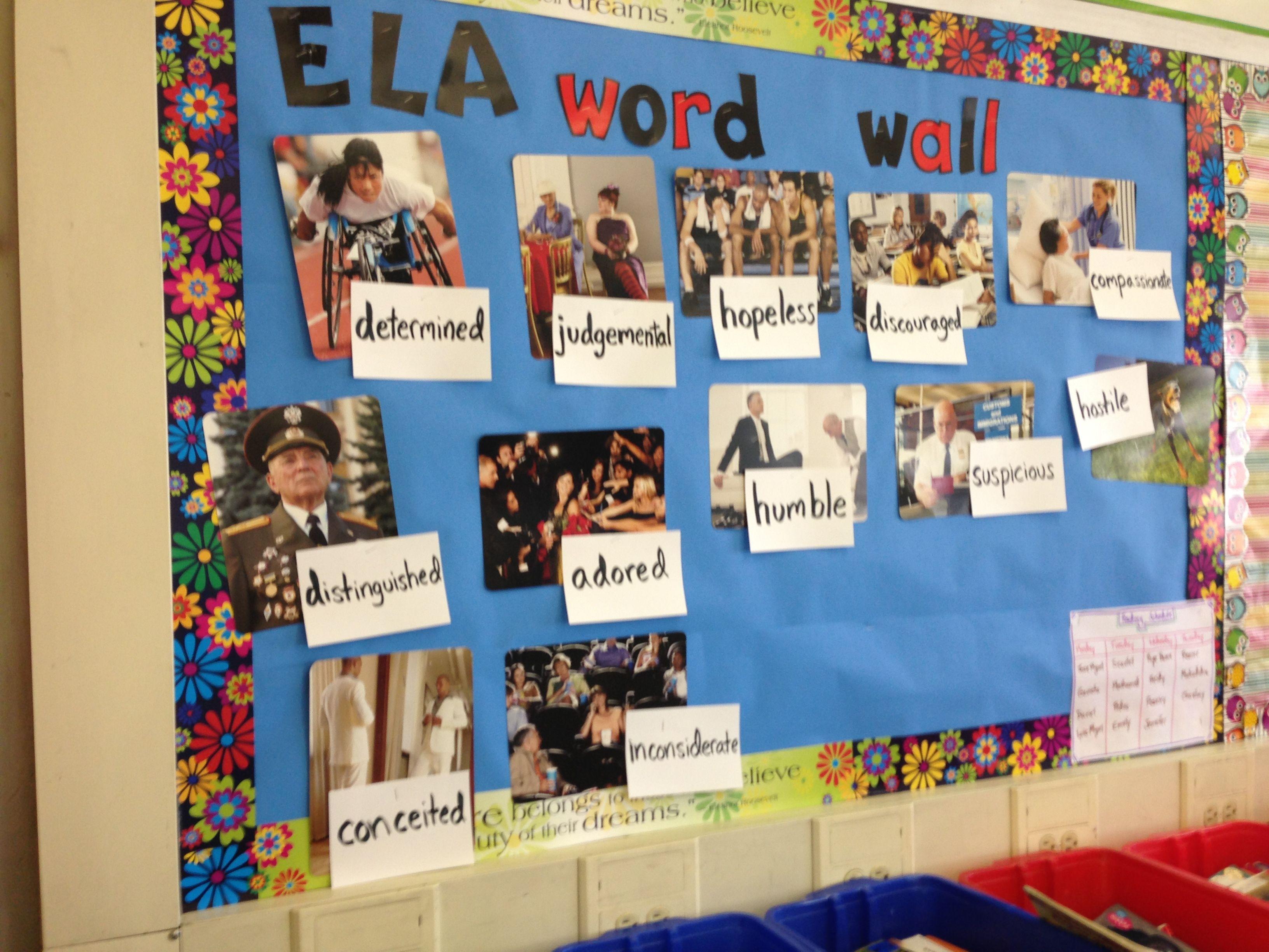 Esl Word Wall