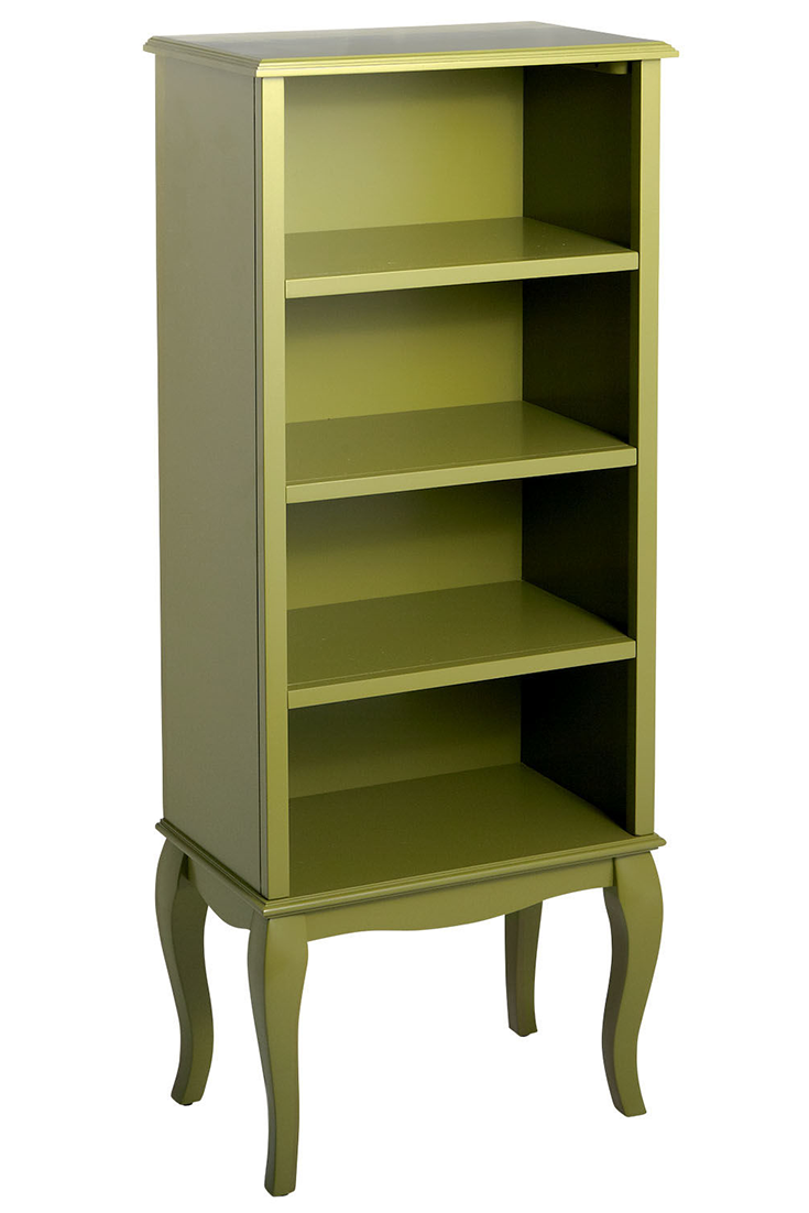 Toscana Tall Bookcase Moss Green Tall Bookcases Bookcase Furniture