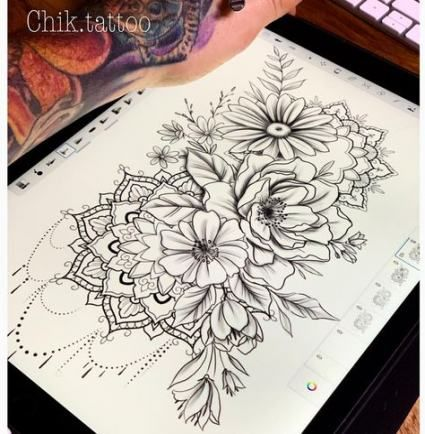Photo of Tattoo mandala design ideas sketches 54+ Ideas