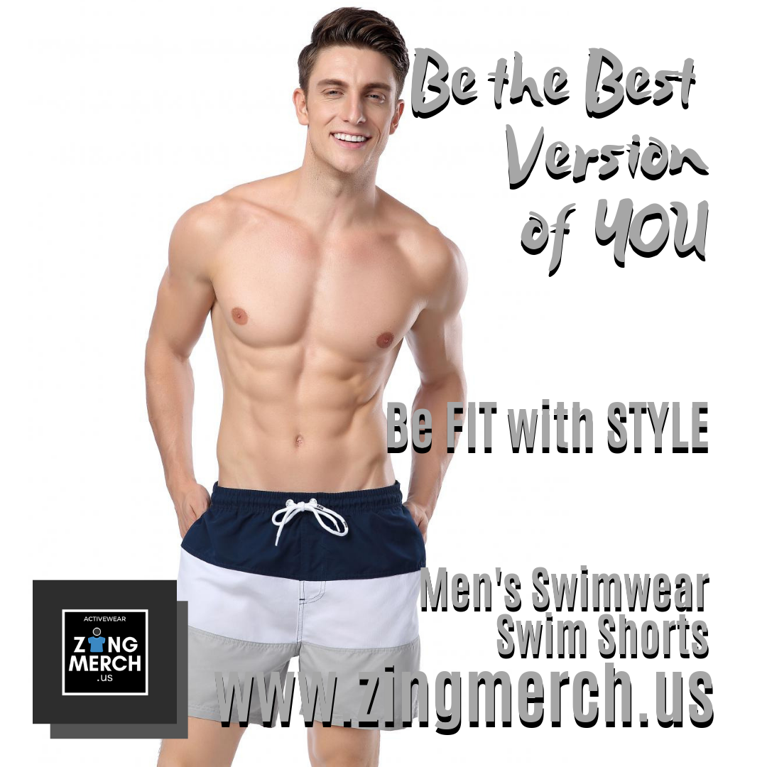Men's Swimwear - Swim Shorts   Mens swimwear, Gym workout ...