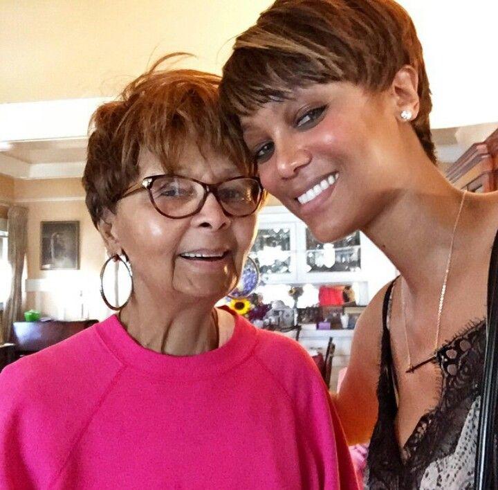 Tyra Banks Family: Tyra Banks And Her Grandmother