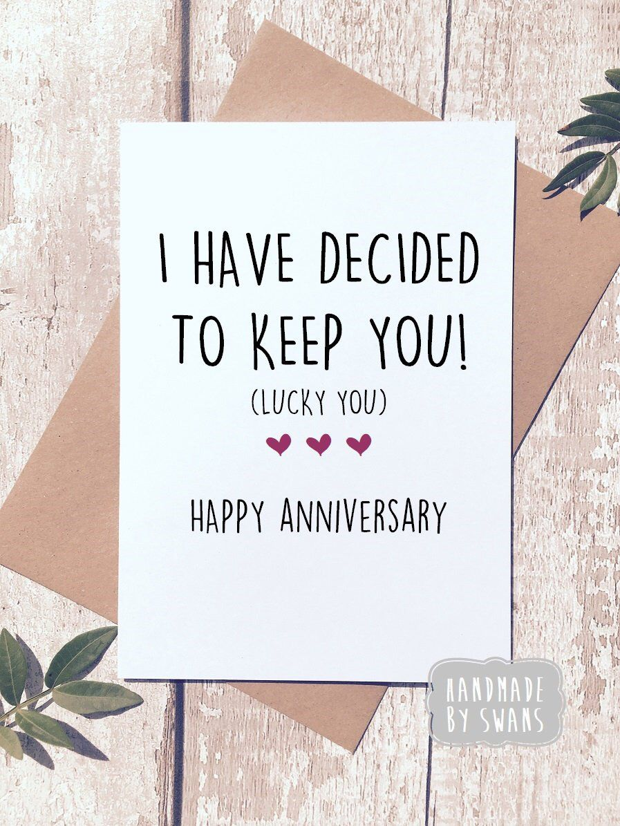 Excited To Share This Item From My Etsy Shop Anniversary Card Funny Anniv Happy Anniversary To My Husband Anniversary Funny Anniversary Quotes For Boyfriend