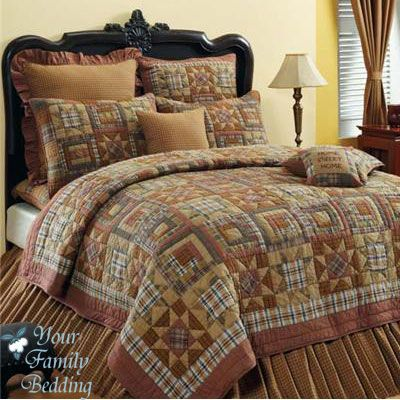 Details About Full Queen Or King Rustic Star Quilt Set