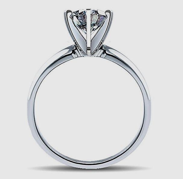 Brand New! Designer Marquise Cut Solitaire Diamond Wedding Ring in 14K White Gold http://amzn.to/2lgiV9V #Solitarie #DiamondRing