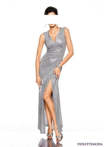 6caf247df49c Spoločenské šaty s trblietkami Ashley Brooke