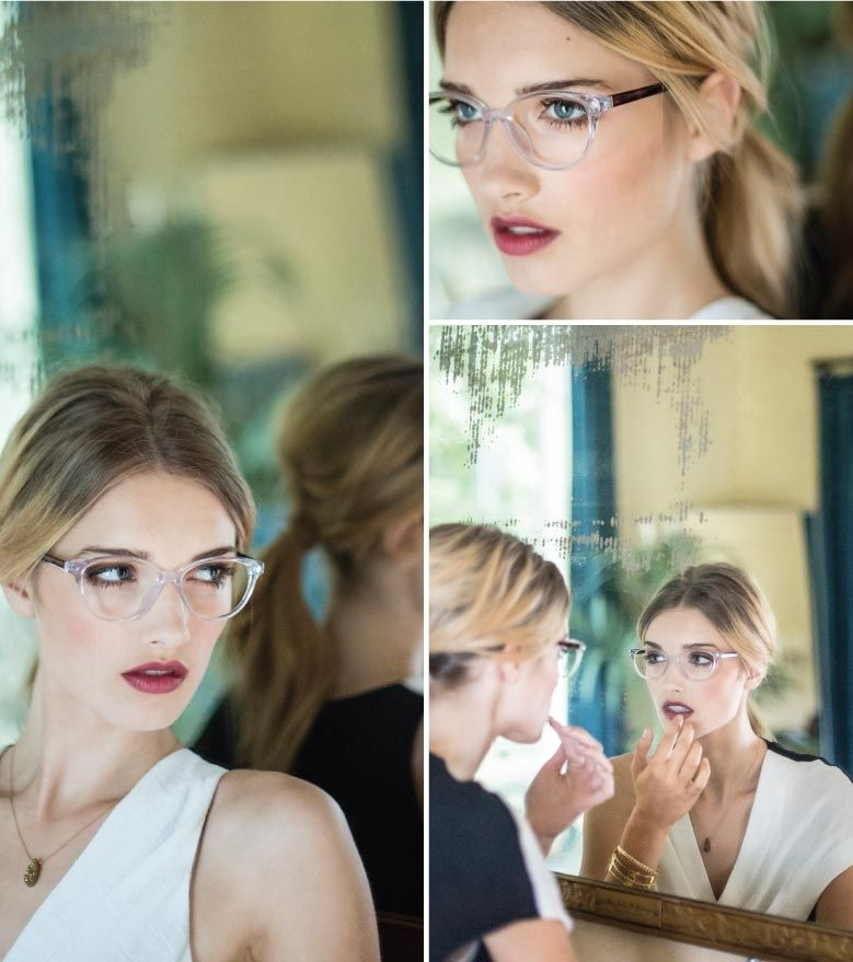 Sneak peek of new collection - New collection preview: Plus One Clear frames - want!