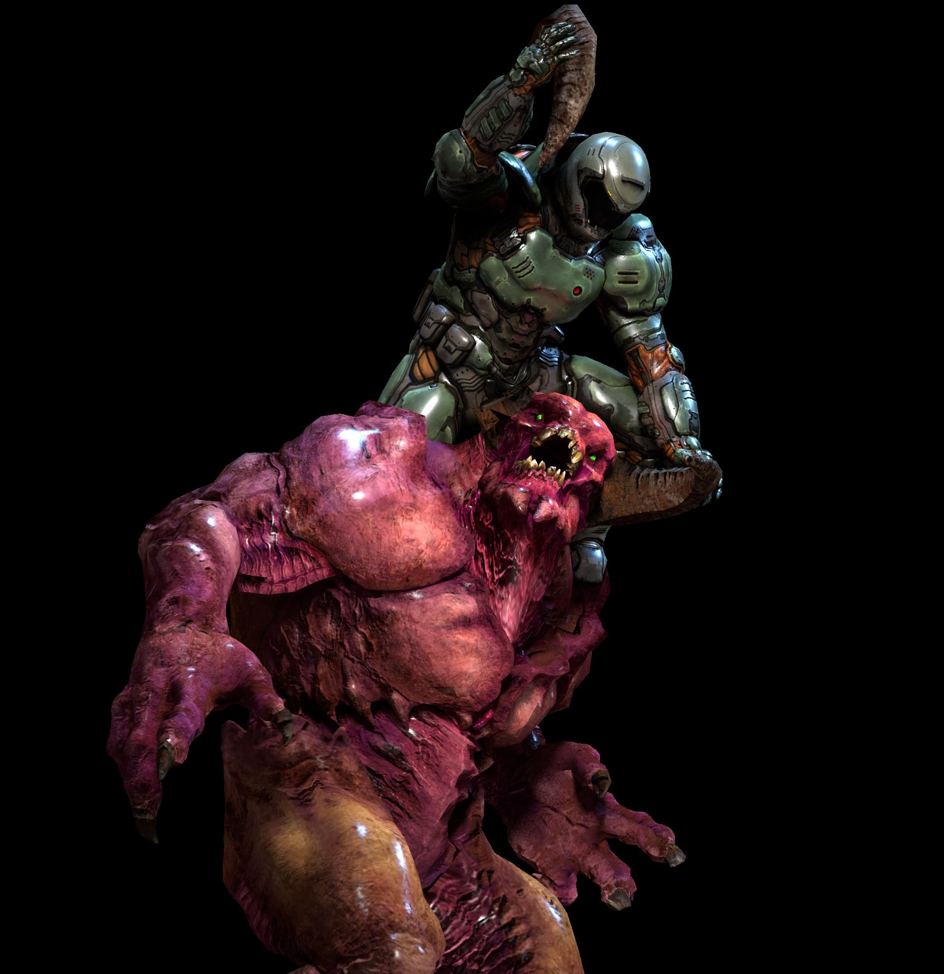 The Barron Slayer [Render] Doom videogame, Doom game