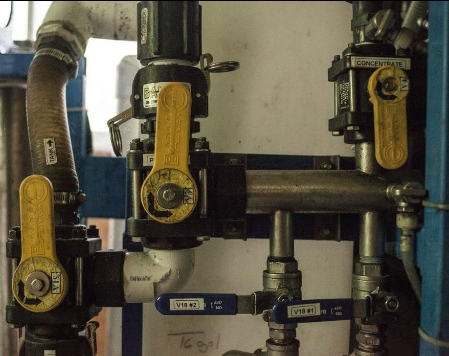 A sugarmakers tools reverse osmosis machine vacuum