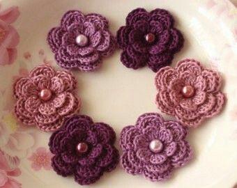 Pin Von Lila Bee Auf Loom Knitting Häkeln Blumen Häkeln Und