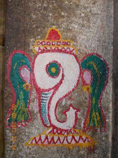 An image of Ganesh, the god of beginnings, taken in Mysore, Karnataka