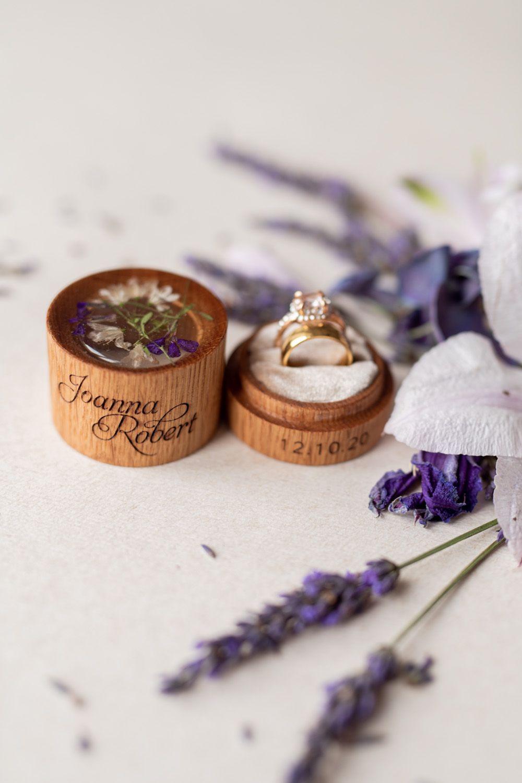 Ring Bearer Box, Wedding Ring Box