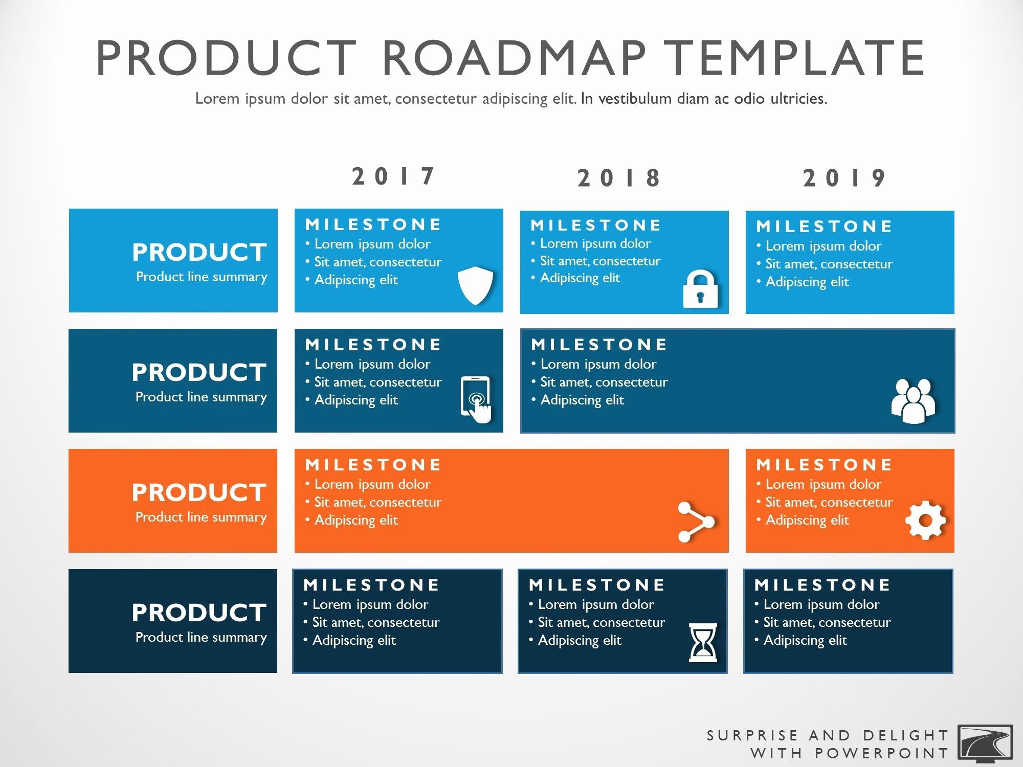 40 Strategic Plan Powerpoint Template in 2020 (With images