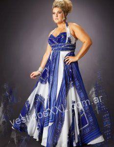 Vestidos de fiesta talles especiales once