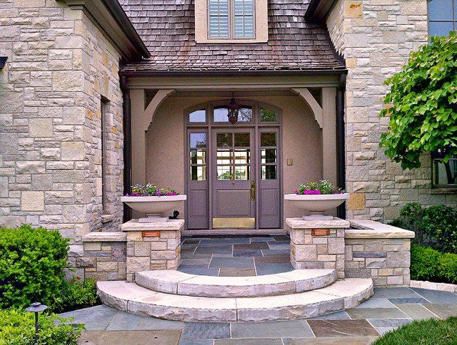 Front Entrance Ideas Part - 41: 23 Creative Ideas Of Traditional Outdoor Front Entry Steps