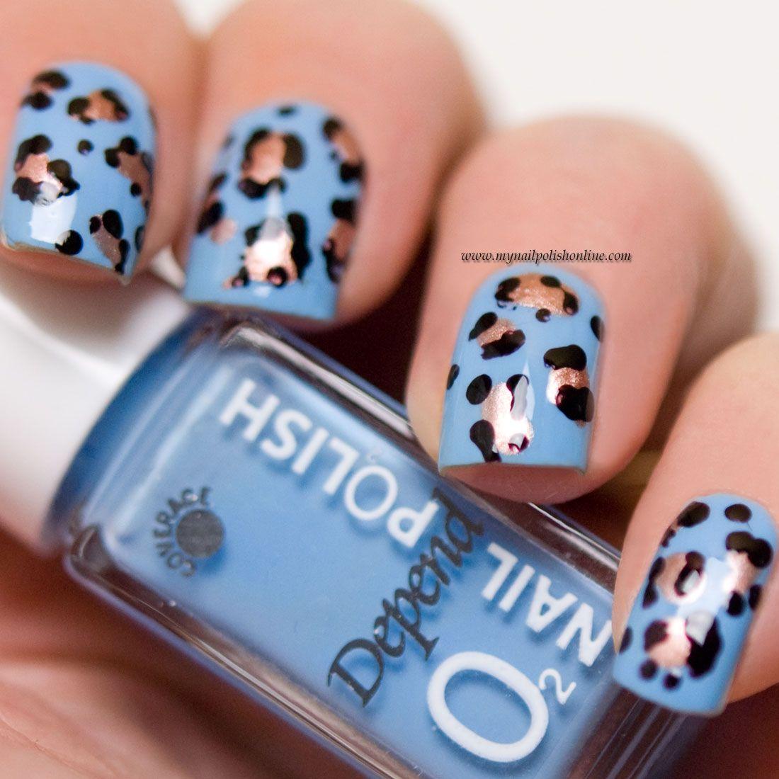 Leopard print - Nail art - http://www.mynailpolishonline.com/2017/07 ...