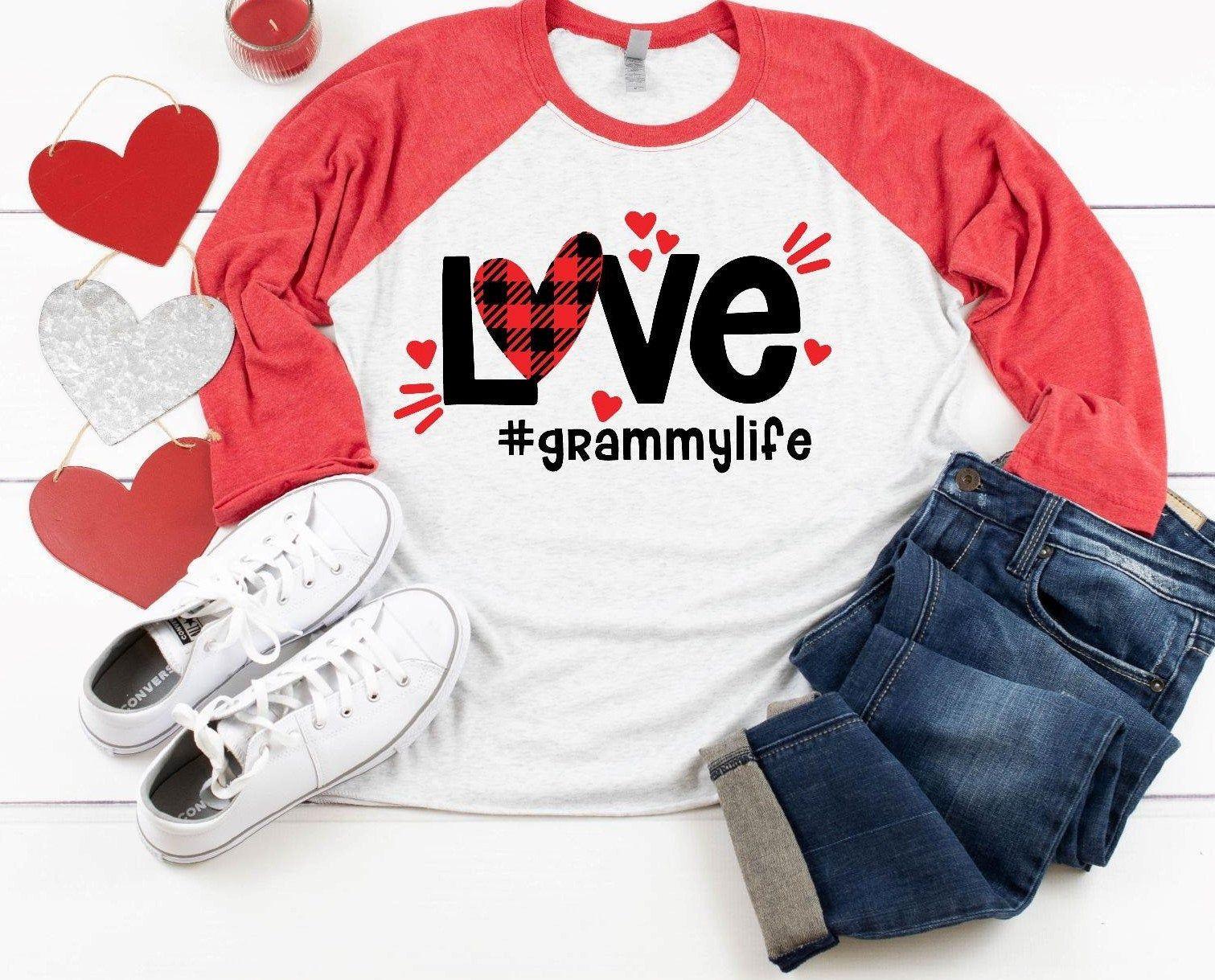 Download Valentine Grandma personalized shirt, Grandma life, Love ...