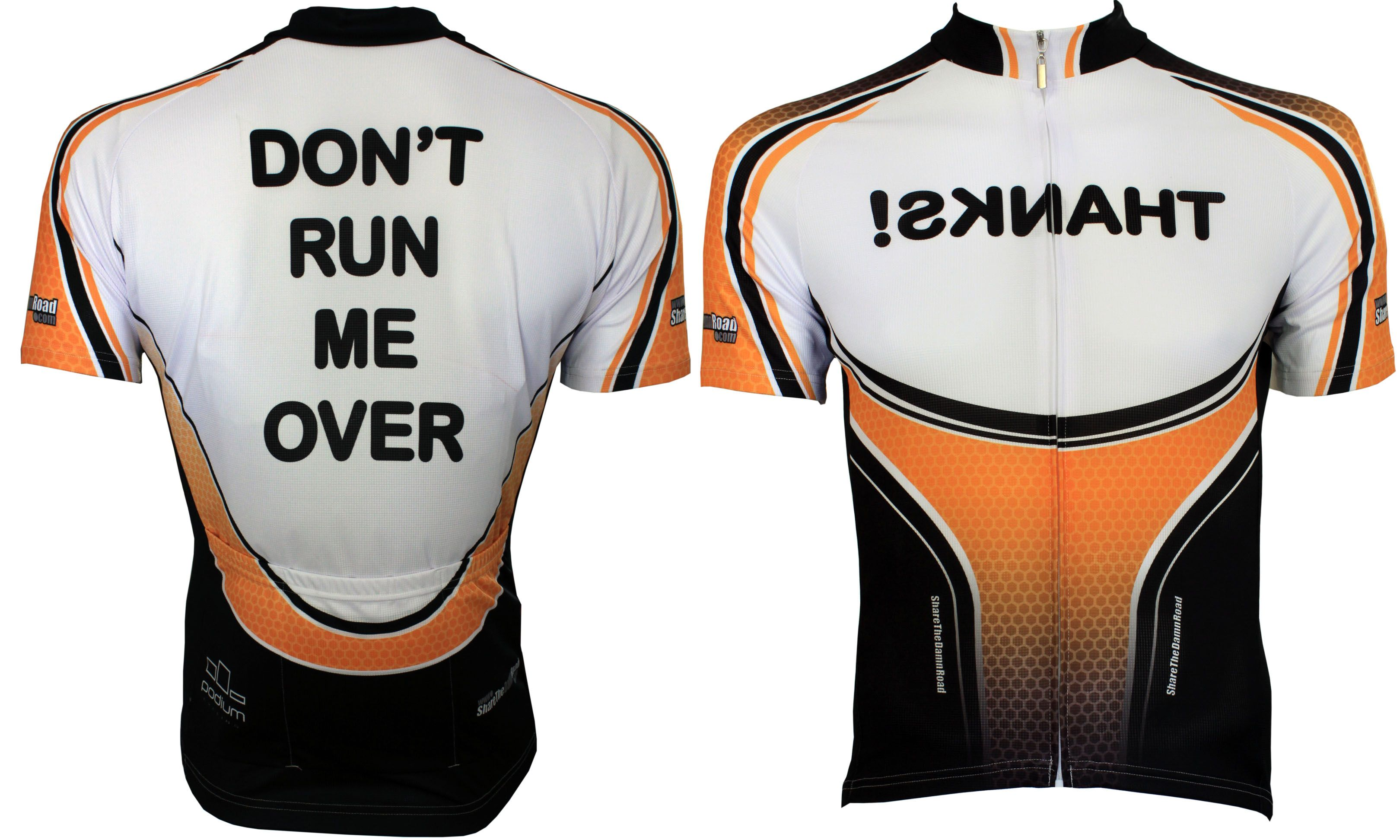DONT RUN ME OVER Cycling Jersey- Need it!