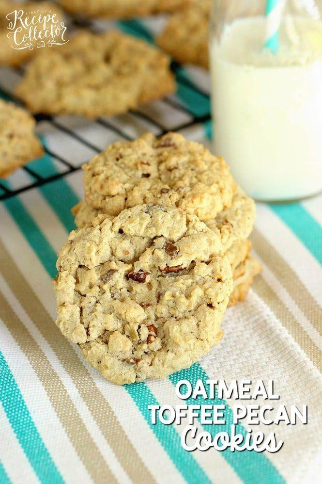 Photo of Oatmeal Toffee Pecan Cookies