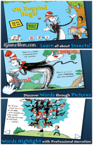 On Beyond Bugs All about Insects The Cat in the Hat