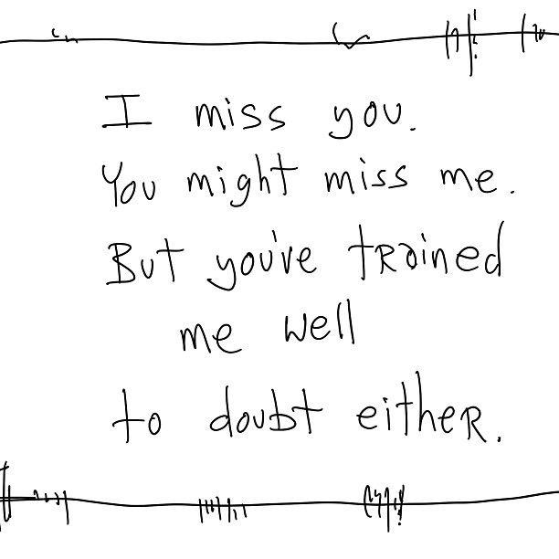 I miss you / NikkiNaomi